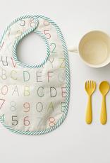 Pehr Designs Bib Set of 2 Alphabet and Multi Dots