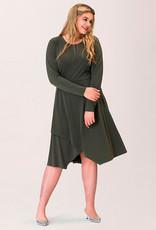 Leota Gemma Dress in Moss