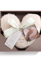 Demdaco Giving Heart in Cream
