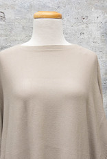 Vintage Concept Long Sleeve Sweater in Khaki