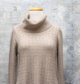 Vintage Concept Turtleneck Sweater Dress
