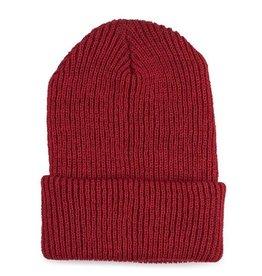 Verloop Simple Rib Hat Red