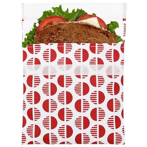 Lunchskins Reusable Sandwich Bag Red Desert (Velcro)