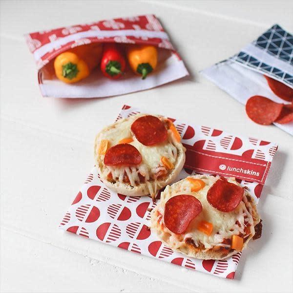 3greenmoms Reusable Sandwich Bag Red Desert (Velcro)