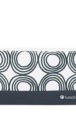 3greenmoms Reusable Snack Bag Charcoal Circles (Zippered)