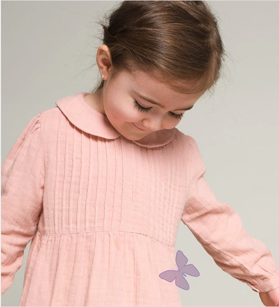 Beetworld Ella Dress in Rose