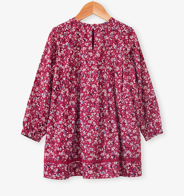 Beetworld Myrtle Tunic in Heather Print