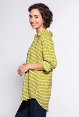 Rockflowerpaper Grace Tunic Olive and White