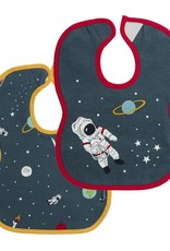 Sophie Allport Bib Set of 2 Space Print