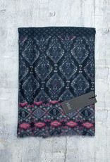 Yest Scarf Space Blue and Pink