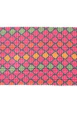 Rockflowerpaper Oversized Jacquard Scarf Logan Pink