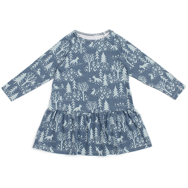 Winter Water Factory Chicago Dress Winter Slate Blue