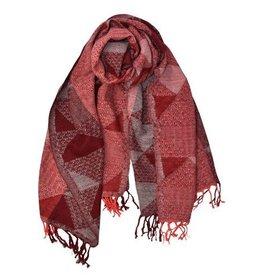 Dupatta Designs Scarf Oscar in Beet Red