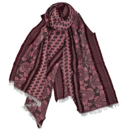 Dupatta Designs Scarf Credence in Red
