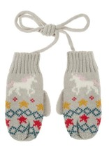 Sophie Allport Child Knitted Mittens Unicorn