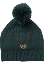 Sophie Allport Knitted Hat Stag in Teal