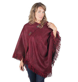 Pokoloko Poncho Coco Button Triangle in Merlot
