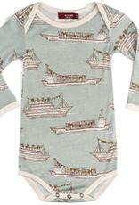 Milkbarn Bamboo One Piece LS Ships