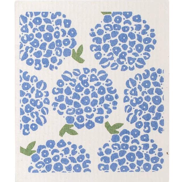 Rockflowerpaper Swedish Dishcloth Hortensia Set of Two