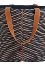 Rockflowerpaper Woven Tote Brown