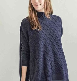 Mer-Sea & Co Lisbon Travel Sweater Bleu