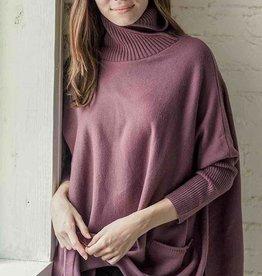 Mer-Sea & Co Newport Travel Sweater Mauve