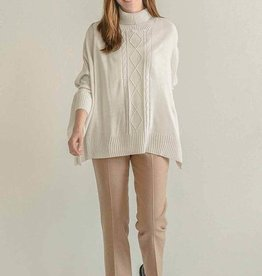 Mer-Sea & Co Aberdeen Travel Sweater Pearl