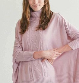 Mer-Sea & Co Aberdeen Travel Sweater Rose