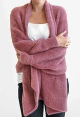 Mer-Sea & Co Chalet Wrap Faux Fur Rose