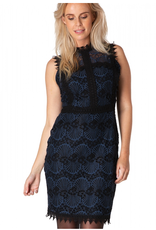 Yest Lace Dress in Navy
