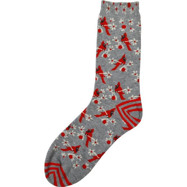Rockflowerpaper Pair of Socks Cardinal Red