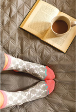 Rockflowerpaper Pair of Socks Stag Grey