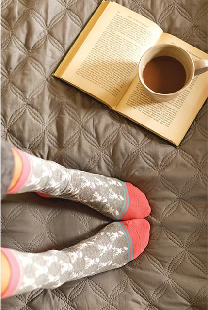 Rockflowerpaper Pair of Socks Stag Grey