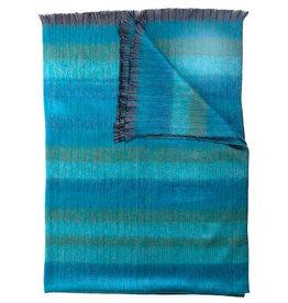 Pokoloko Throw Blanket Mood in Sea Green