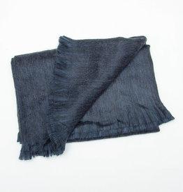 Pokoloko Throw Blanket Fringed in Polo