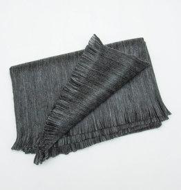 Pokoloko Throw Blanket Fringed in Dusk