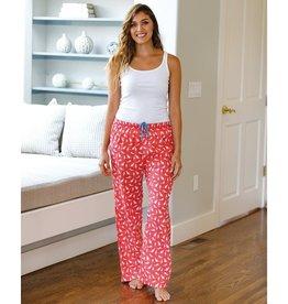 Rockflowerpaper Lounge Pants Cats Pink