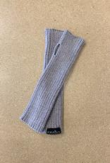 Fraas Chenille Metallic Arm Warmer in Light Grey