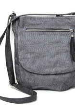 Helping Hand Partners Lucy Crossbody Bag Charcoal