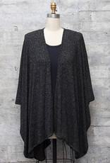 Nally and Millie Soft Wrap in Black