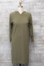Nally and Millie Hooded Dress in Eucalyptus