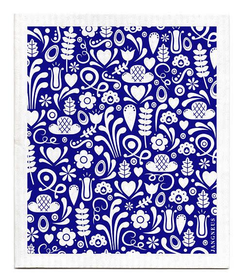 Esthetic Living Swedish Dishcloth Dala Blue