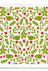 Esthetic Living Swedish Dishcloth Holly Red