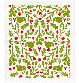 Esthetic Living Swedish Dishcloth Holly Red