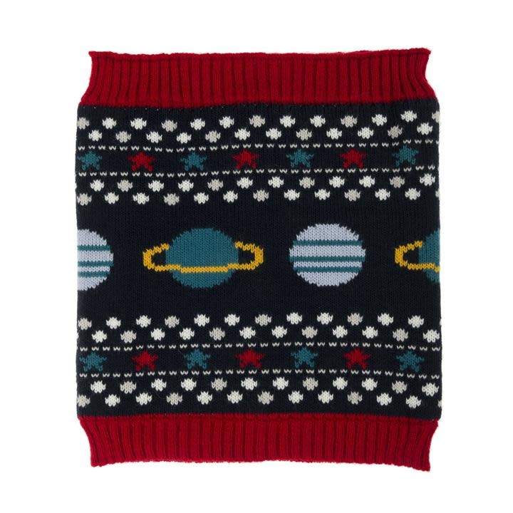 Sophie Allport Children's Knitted Snood Space
