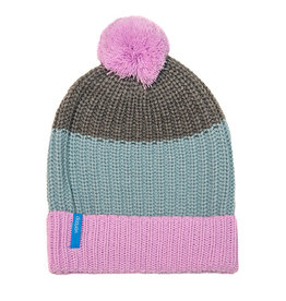 Verloop Kids Pom Hat in Lilac Grey