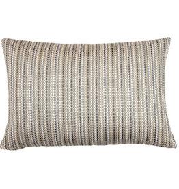 Kreatelier Stripe Pillow in Neutrals 15 x 23