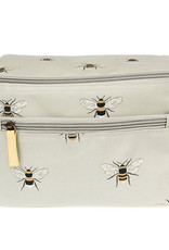 Sophie Allport Oilcloth Lunch Bag Bees
