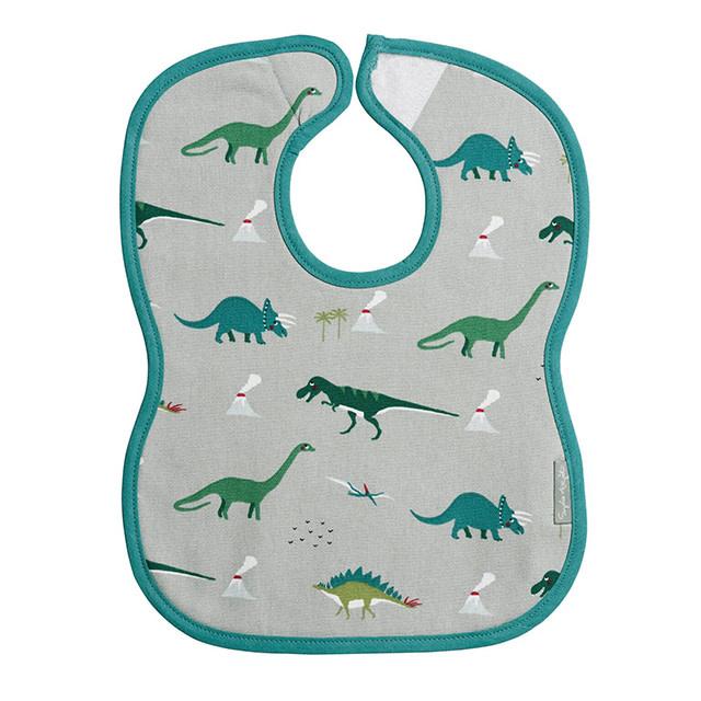Sophie Allport Baby Bib Dinosaur