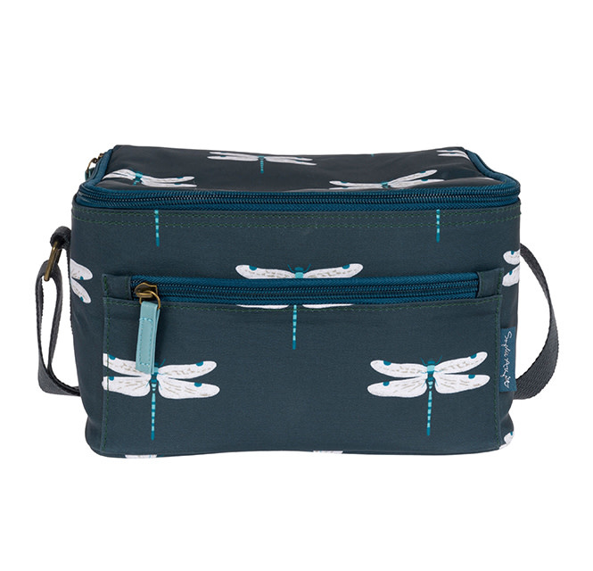 Sophie Allport Oilcloth Lunch Bag Dragonfly